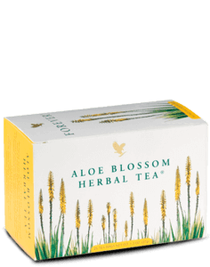 aloe herbal tea infusion fleur d'aloes